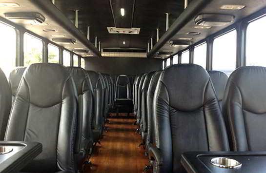 Photo of a 46 Passenger Party Bus. The Ultimate Limo Coach Clearwater, FL